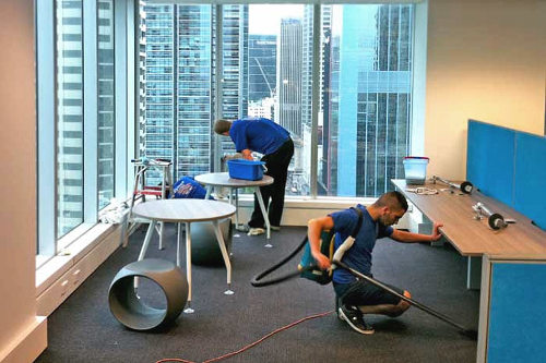 commercial cleaning services in Las Vegas, NV
